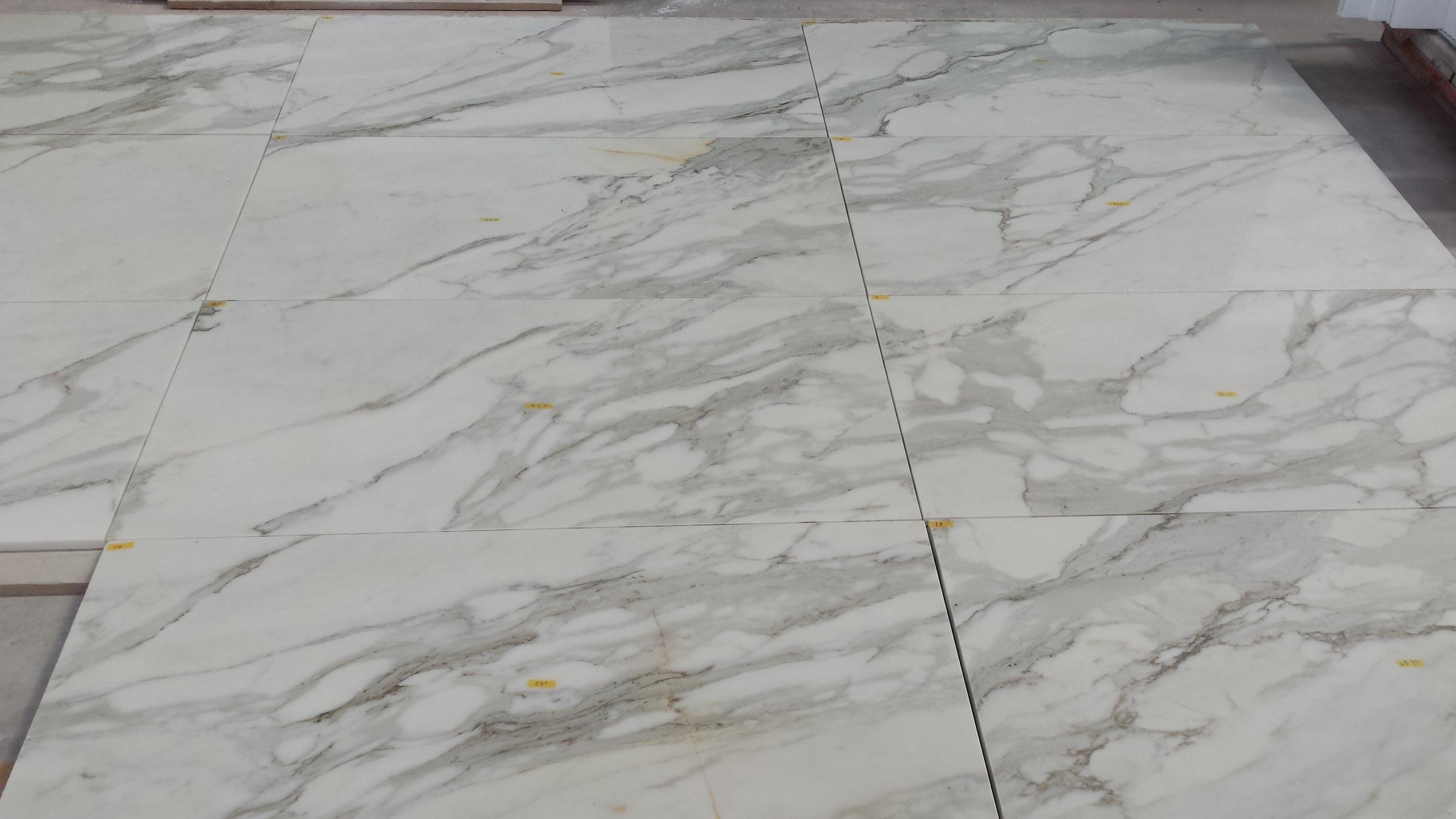 Calacatta Oro floor