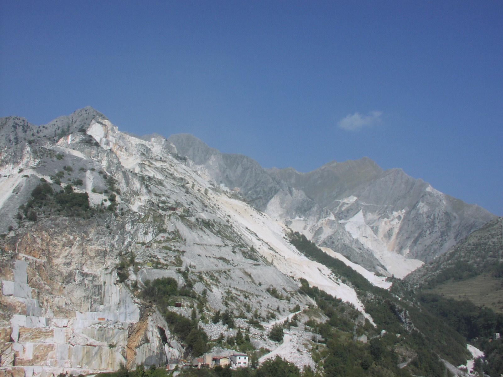 Vista cave di Carrara
