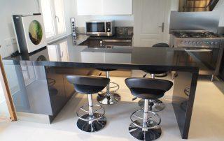 Black Granite Kitchen top 1 2