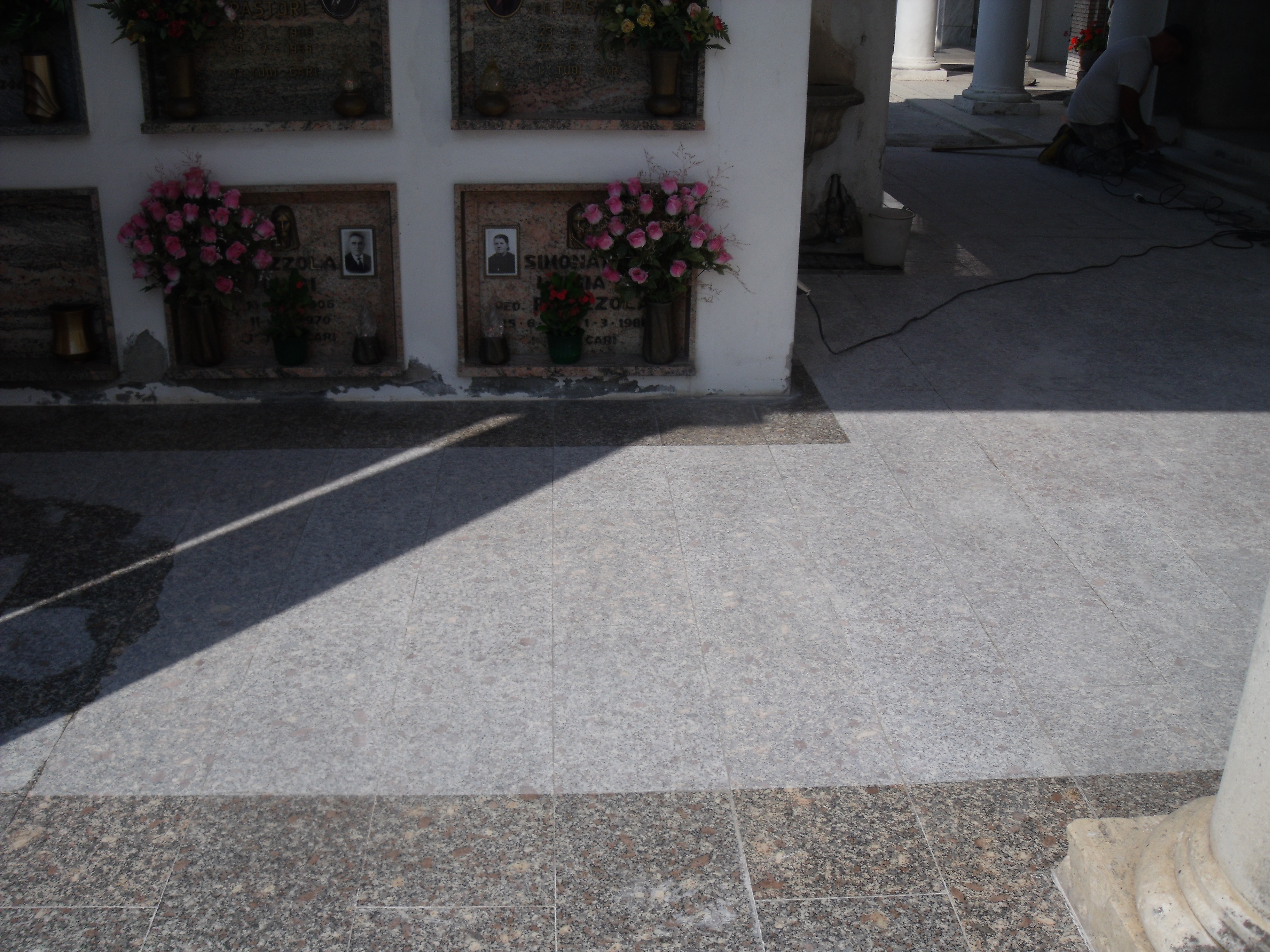 Cemetery Floor renovation 16